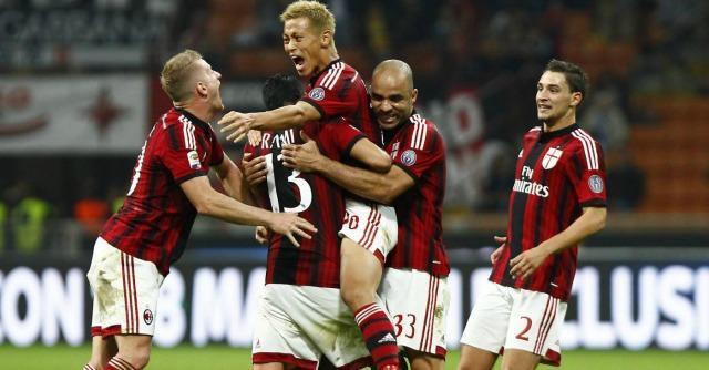 Milan-Chievo 2-0, Muntari e Honda scacciano le paure della squadra di Inzaghi