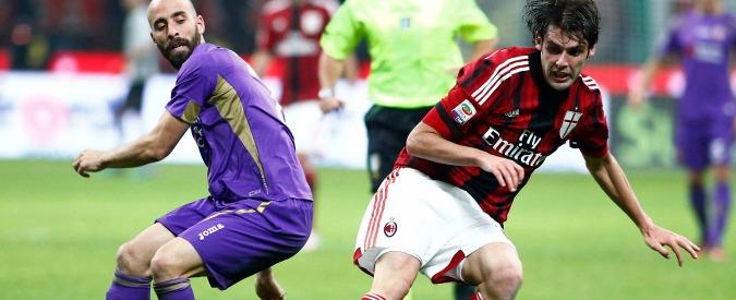 Milan – Fiorentina, i rossoneri non vanno oltre il pareggio. A Milano finisce 1-1
