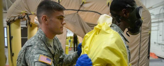 Ebola, quarantena in Italia per 11 militari Usa di ritorno dalla Liberia