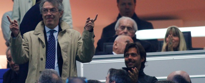 """Calcio, Moratti: """"Trofeo a cui sono più affezionato? Lo scudetto vinto a tavolino"""""""