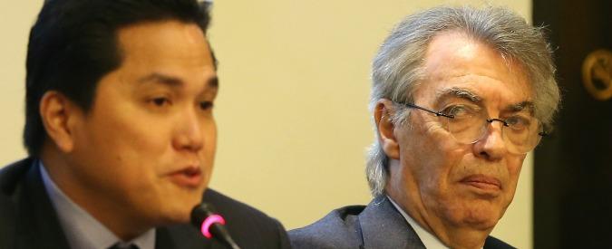 Moratti, dietro l'addio all'Inter i contrasti con Thohir sui debiti (e su chi li pagherà)