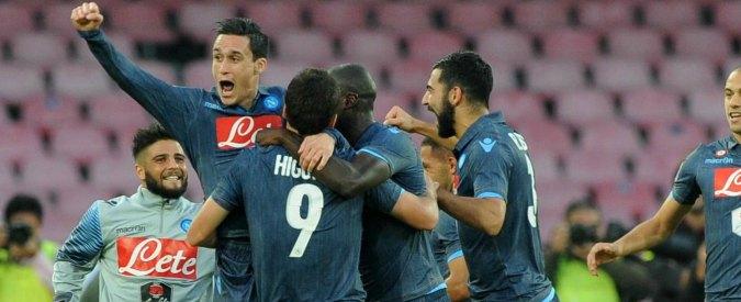 Napoli – Roma, al San Paolo finisce 2 a 0. Stop alla corsa scudetto dei giallorossi