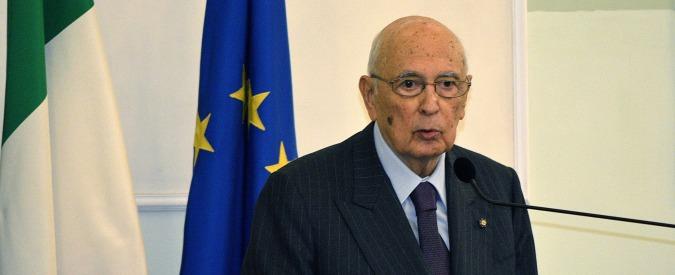 """Napolitano, no dimissioni a gennaio. Ancora al Colle per """"il dovere di restare"""""""