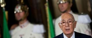 """Trattativa, Napolitano testimonia nella """"Sala Oscura"""". Esclusi i giornalisti"""