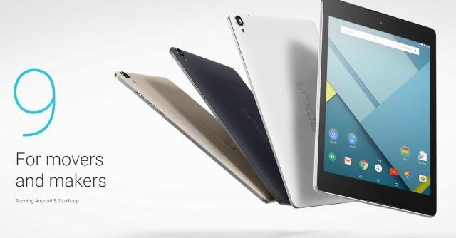 Nexus 6 e 9: nuovi tablet e smartphone XL con Android Lollipop