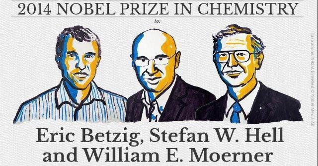 Nobel per la Chimica 2014 a Betzig, Hell e Moerner per i microscopi ottici