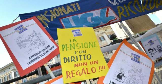 Legge di Stabilità, Tesoro fa dietrofront sullo slittamento delle pensioni al 10