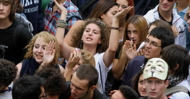 Milano, la Lega Nord e i giovani in movimento