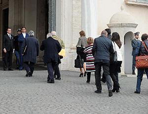 Quirinale - Deposizione di Giorgio Napolitano sulla trattativa Stato-Mafia