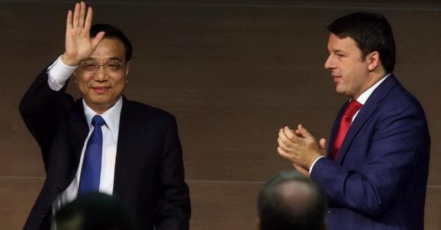 Vertice Asem Milano, Renzi accoglie premier cinese. Bloccate due Femen