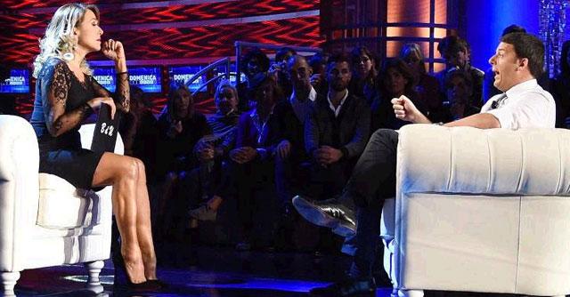 Renzi, la D'Urso e la solita Italietta del 'volemose bene'