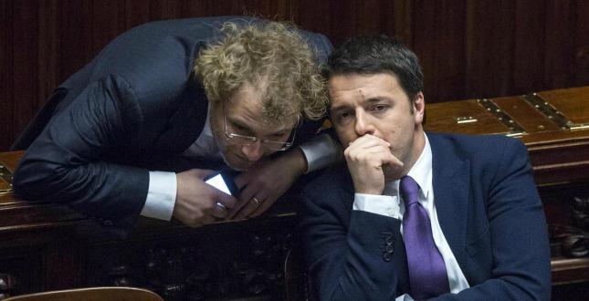 Luca Lotti e Matteo Renzi