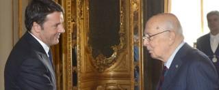 Gentiloni ministro: Renzi equilibrista tra volere del Colle e cerchio magico