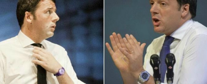 Renzi, dallo Swatch della rottamazione all'orologio da 15mila euro alla Leopolda