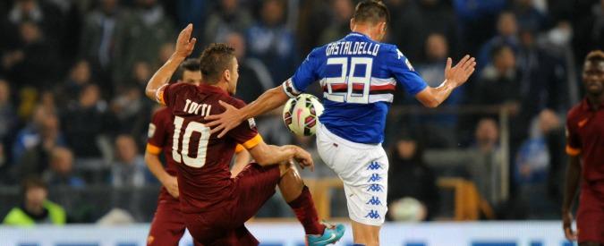 Sampdoria-Roma 0-0: a Genova vince la paura di perdere. La Juve può allungare