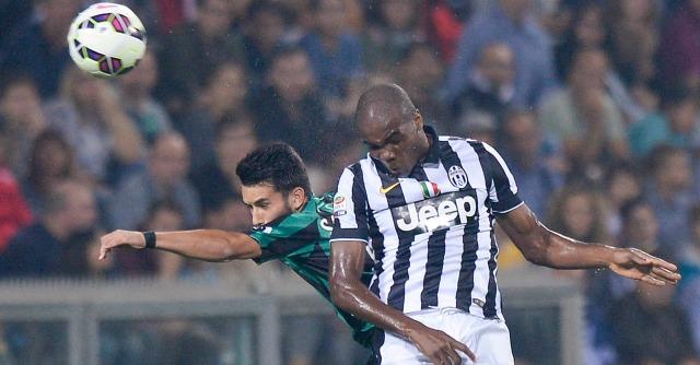 Sassuolo-Juventus 1-1: segna il bomber Zaza. Pareggio bianconero di Pogba