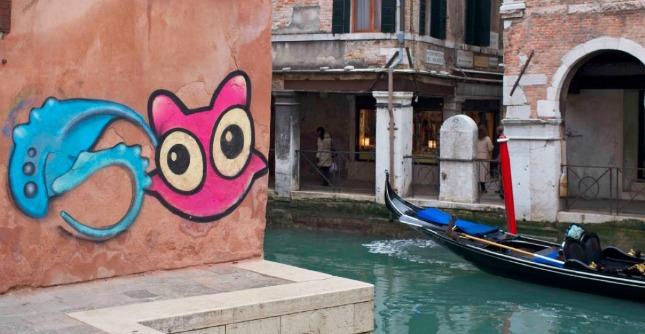 """Venezia, writer a processo, i residenti: """"I graffiti sono arte non vandalismo"""". Assolto"""