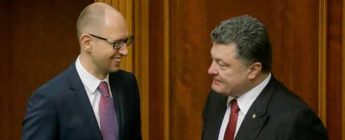 "Elezioni Ucraina, testa a testa Yatseniuk-Poroshenko. ""Ora mega coalizione"""
