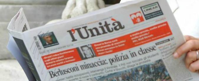 "L'Unità, liquidatori: ""Nessuna offerta congrua"". Termine prorogato a fine mese"