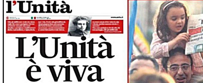 """""""l'Unità"""", pioggia di cause contro i giornalisti : il Pd si dilegua"""