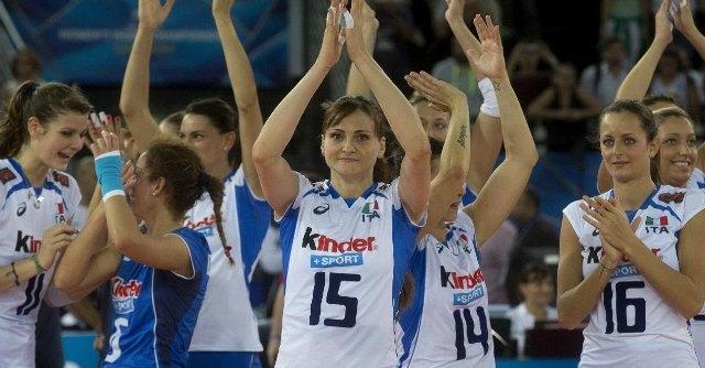 Mondiali pallavolo femminile 2014, Italia-Stati Uniti: 3-0. Azzurre contro la Russia