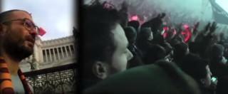 """Napoli-Roma, il video per la """"pace"""" tra le tifoserie dopo morte Ciro Esposito"""