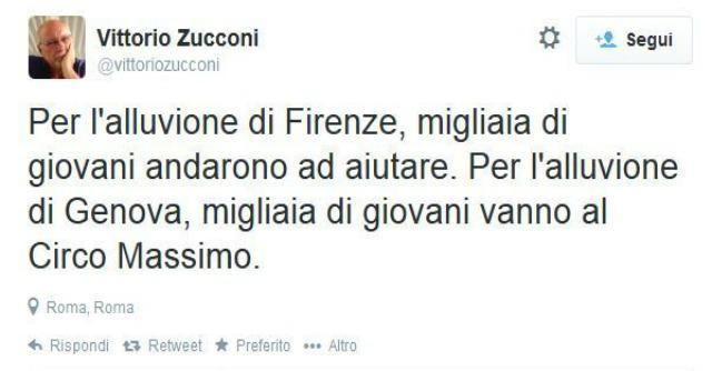"""#CircoMassimo su Twitter: #M5S risponde a Zucconi. Grillo """"lo prendo a calci in culo"""""""