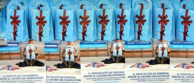 I cioccolatini della ricerca di Airc: sabato 8 novembre in 600 piazze italiane