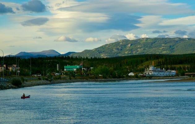 20141121 Yukon-Blues-canoa-viaggio-Bonatti-Walter