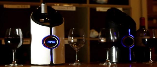 Sonic decanter, onde sonore per il vino di qualità