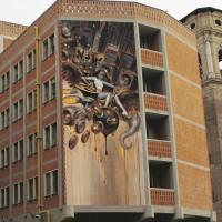 DOPO. Palazzo dei Lavori Pubblici, Torino.   (Bozzetto di Glenn Barr) Sul Fatto Quotidiano di lunedì 13 ottobre 2014