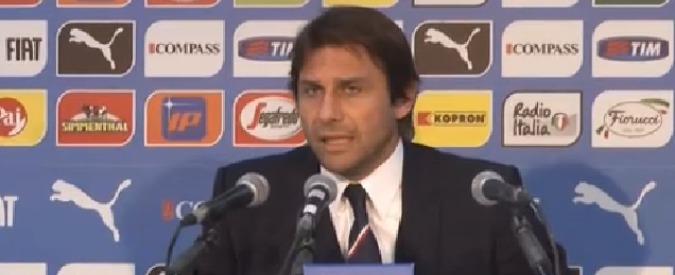 """Italia – Albania, Conte: """"La Nazionale è solo un fastidio. Sento solo parole, ma niente fatti"""""""