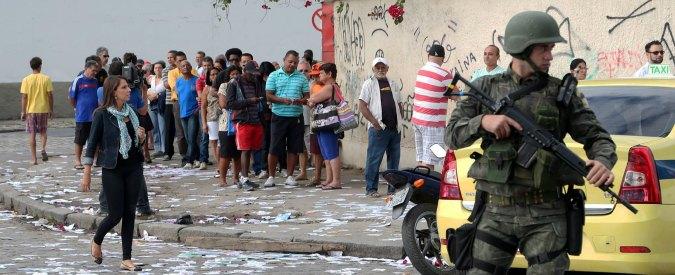 """Brasile, crimine costa 80 miliardi l'anno: """"In fumo investimenti per la sicurezza"""""""