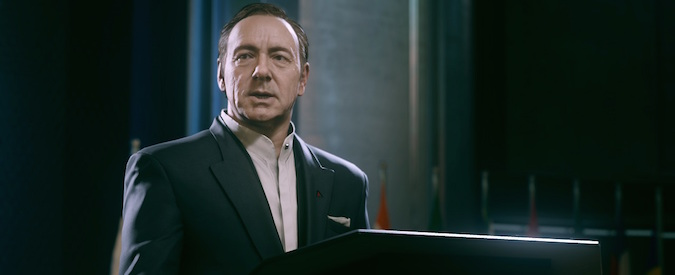 Call of Duty riparte da Kevin Spacey e ci mostra la guerra del futuro