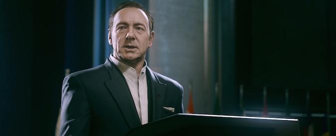 Call of Duty riparte da Kevin Spacey e ci mostra la guerra del futuro