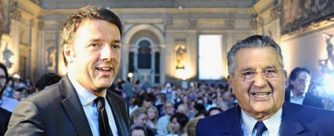 Carlo De Benedetti cambia l'agenda di Renzi, dalla nazionalizzazione delle banche alla patrimoniale progressiva