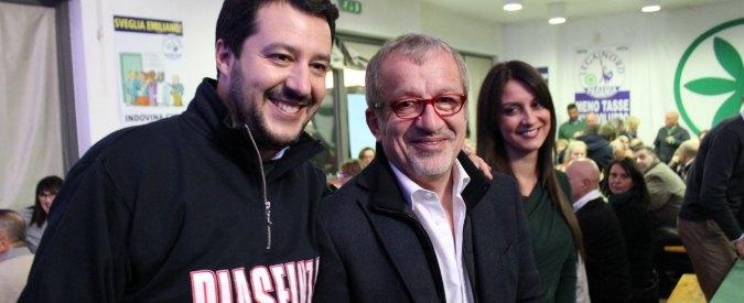 Lega Nord si spacca in 2 feste della Zucca. Bossi: 'No a Casapound: noi antifascisti'