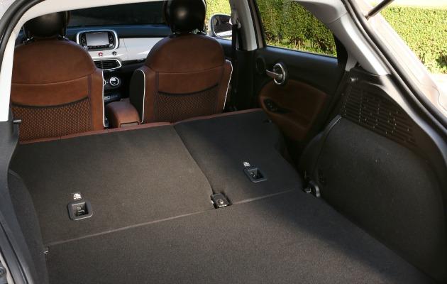 Fiat 500X bagagliaio