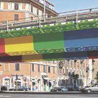 DOPO. Tangenziale Est a Roma. (Bozzetto di Megx (Germania)) Sul Fatto Quotidiano di lunedì 15 settembre 2014