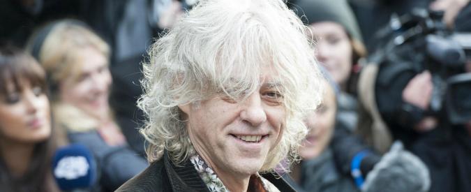 Ebola, Bob Geldof: una canzone per raccogliere fondi. Con Bono e Adele