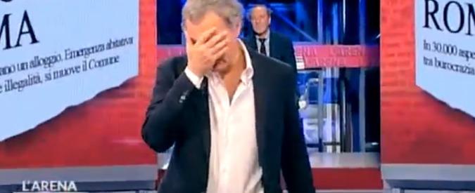Massimo Giletti: 'Una stalker insospettabile mi perseguita. Temo un gesto di follia'