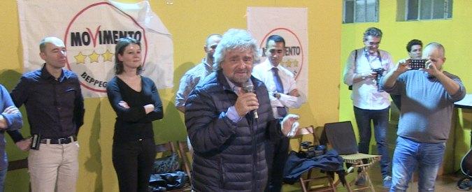 """Regionali Emilia, Grillo a Bologna: """"Ora dovete camminare sulle vostre gambe"""""""