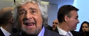 M5S, Beppe Grillo presenta alla Stampa Estera il referendum sull'euro. La diretta