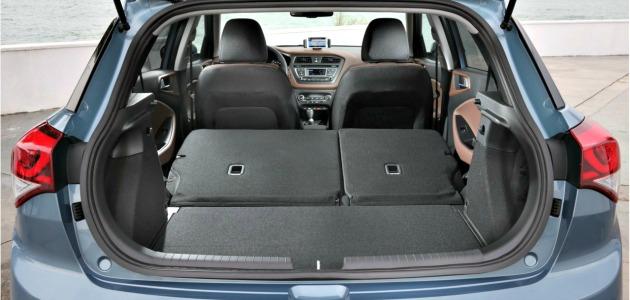 Hyundai i20 2014 bagagliaio