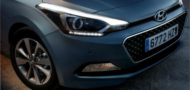 Hyundai i20 2014 fari