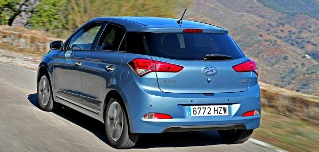 Hyundai i20 2014 posteriore
