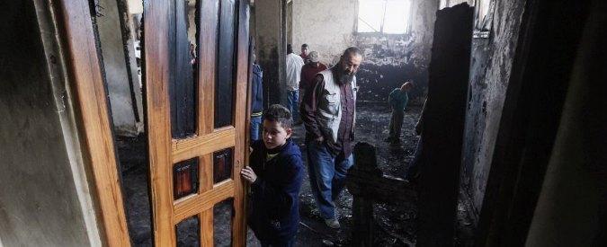 Israele, data alla fiamme moschea in Cisgiordania. Molotov contro sinagoga