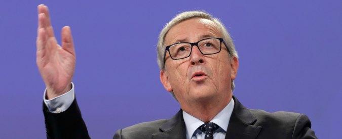 """Juncker: """"Ue è a pezzi. Inaccettabile che i Paesi cattolici rifiutino i musulmani. Flessibilità? L'Italia ha avuto 19 miliardi"""""""