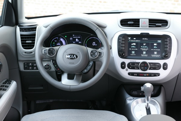 Kia Soul ECO-electric interno
