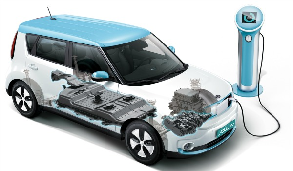 Kia Soul ECO-electric schema
